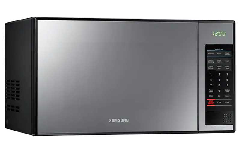 Samsung Me0113m1 Solo Microwave Oven With Black Glass